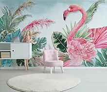 Tapete Vlies Pflanze Flamingo Fototapete Fotowand