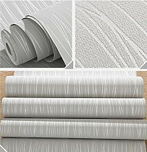 Tapete Vlies Vertikale Streifen Silbergrau Effekte
