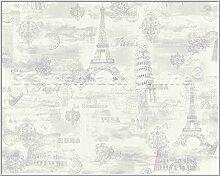 Tapete Vliestapete Aquarius K & B Rom Paris Pisa
