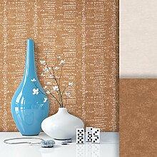 Tapete Vliestapete Braun Edel , schönes modernes Afrika Design mit Luxus Effekt , moderne 3D Optik für Wohnzimmer, Schlafzimmer, Flur oder Küche inkl.Newroom Tapezier Profibroschüre mit super Tipps!
