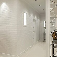 Tapete Wallpapers/White Stereo/Bump/Foam/Brick/Wallpaper/Clothing Shop/Photo/Brick PVC Project Wallpaper/Wallpaper/Wall Aufkleber