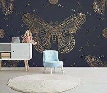 Tapete Wandbild 3D Fototapete Schmetterling