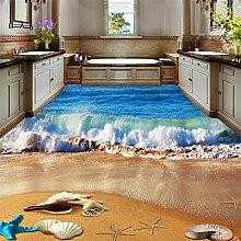 Tapete Wandbild Aufkleber Strand Badezimmer