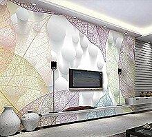 Tapete Wandbild für Wand Baum Blatt 3D Ader