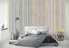 Tapete Wandbilder Gestreifte Tapete Wohnzimmer