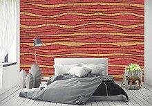 Tapete Wandbilder Horizontale Streifen Wohnzimmer