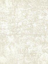 Tapete weiß champagner glänzend Effekt Malerei
