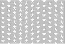 Tapete Weiße Sterne 1.9m L x 288cm B Fan