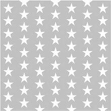 Tapete Weiße Sterne 192 cm L x 192 cm B Fasano