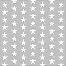 Tapete Weiße Sterne 288 cm L x 288 cm B Fast