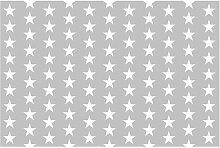 Tapete Weiße Sterne 3.2m L x 480cm B Fang