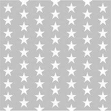 Tapete Weiße Sterne 336 cm L x 336 cm B Fetter