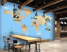 Tapete Weltkarte 3D Wandbilder Für Fernseher
