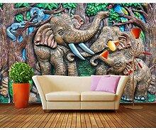 Tapete Wohnzimmer Wandbild 3D Selbstklebende