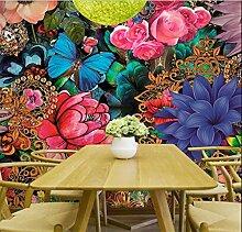 Tapeten 3D Blume Tapete Fototapeten Für