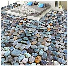 Tapeten 3D Böden Kopfsteinpflaster Wohnzimmer