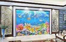 Tapeten 3D Fototapete 3D Effekt Hd Unterwasser