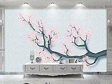 Tapeten 3D Tapete Wandbilder Moderner Baum Blumen