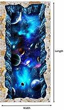 Tapeten 3D Wallpaper Moderne Star Universe