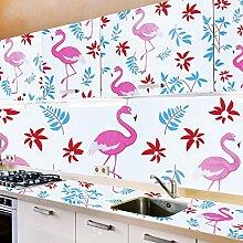 Tapeten Aufkleber Tiere Flamingo Drucken,