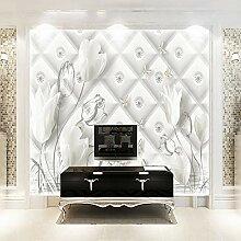 Tapeten,Eigene 4D Wallpaper Pflanze Weiße Calla