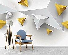 Tapeten- festes Dreieck-moderne unbedeutende
