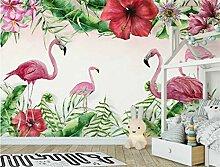 Tapeten Flamingo-Betriebswandgemälde Der