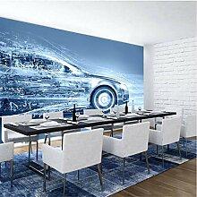 Tapeten Foto 3D Hd Dynamische Moderne Auto Mural