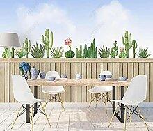Tapeten Fototapete 3d Effekt Kaktus Pflanze