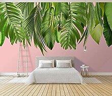 Tapeten Fototapete 3d Effekt Tropische Pflanze Mit