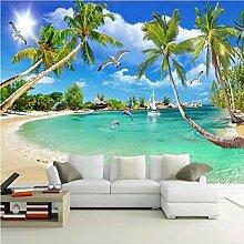 Tapeten Fototapete 3D Seascape Benutzerdefinierte