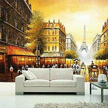 Tapeten Frankreich Eiffelturm Goldene Paris Tapete