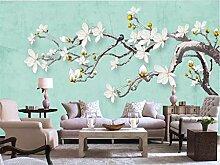 Tapeten Handgemaltes Blumenbild Der Chinesischen
