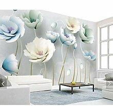 Tapeten MRQXDP Blume Zweig Tapete Wandbild für