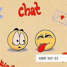 Tapeten MUSTER EDEM 037-Serie | Kinder Jugend Zimmer Tapete Smileys Anime Mangas, 037-XX:S-037-23