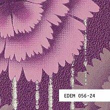 Tapeten MUSTER EDEM 056-Serie | Tapete Floral Designer Retro Blumen 70er Style, 056-XX:S-056-24