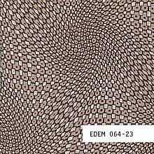 Tapeten MUSTER EDEM 064-Serie | Tapete abstraktes Retro-MUSTER 3D Metall-Optik, 064-XX:S-064-23