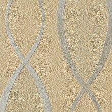 Tapeten MUSTER EDEM 1018-Serie | Tapete geschwungene Designer Linien 70er Retro, 1018-XX:S-1018-13
