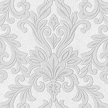 Tapeten MUSTER EDEM 696-Serie | Barock Damask Muster Struktur-Tapete, 696-XX:S-696-96