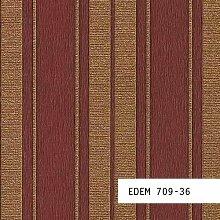 Tapeten MUSTER EDEM 709-Serie | Hochwertige Präge Barock Streifen Tapete, 709-XX:S-709-36