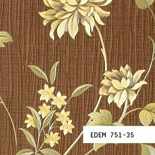 Tapeten MUSTER EDEM 751-Serie | Deluxe Asia Floral Blumen Tapete, 751-XX:S-751-35