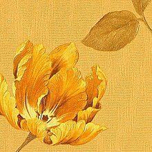 Tapeten MUSTER EDEM 769-Serie | Tapete Floral Blumen Textiloptik Blumentapete, 769-XX:S-769-32