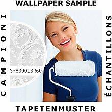 Tapeten Muster EDEM 83001BR60 | Vliestapete zum Überstreichen Barock Tapete mit Ornamenten ma