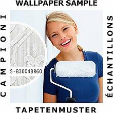 Tapeten Muster EDEM 83004BR60 | Vliestapete zum Überstreichen Barock Tapete mit Ornamenten ma