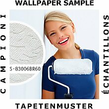 Tapeten Muster EDEM 83006BR60 | Vliestapete zum Überstreichen Barock Tapete mit Ornamenten ma
