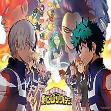 Tapeten My Hero Academia Tapete Anime 3D Tapeten