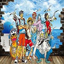 Tapeten One Piece Tapete 3D Anime Wandbilder