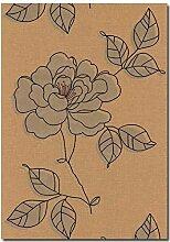 Tapeten Vlies Barock Floral Design