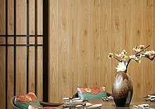 Tapeten Vlies-Tapete Gestreifte Holz Vintage