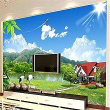 Tapeten Wandbild Aufkleber 3D Stereoscopic Tv